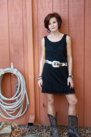 Styled with a western accessories and taken in 2011.