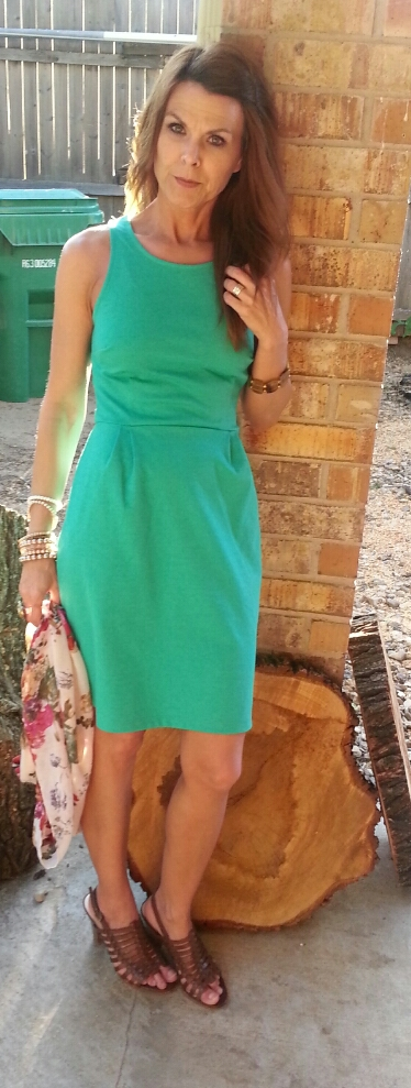 Summer Green Dress